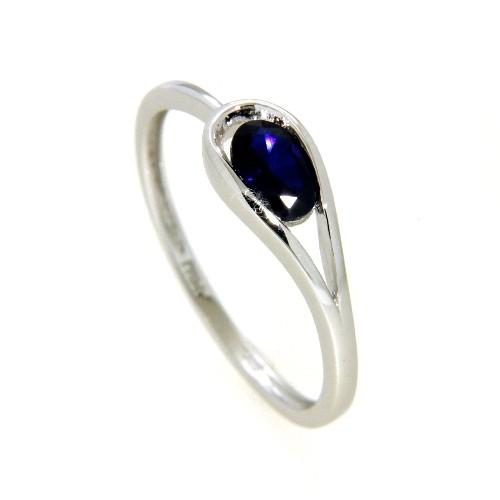 Ring Silber 925 rhodiniert Weite 54