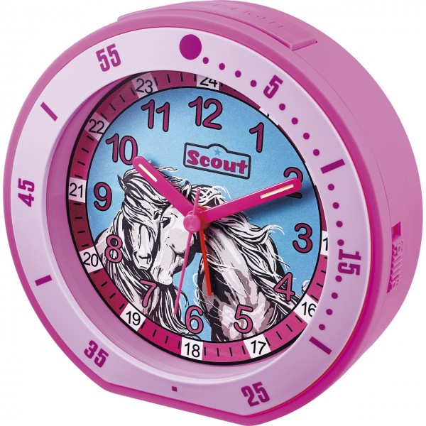 SCOUT Wecker pink Minute 280001003