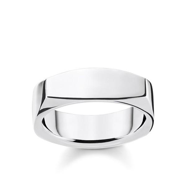 Thomas Sabo Ring eckig Größe 68 TR2279-001-21-68