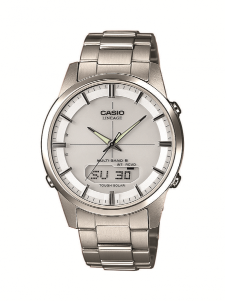 CASIO Armbanduhr Radio Controlled LCW-M170TD-7AER