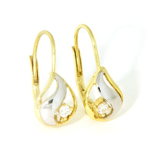 Bouton Gold 333 bicolor