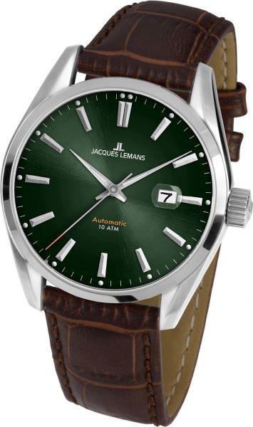 Jacques Lemans Herren-Armbanduhr Derby Automatic 1-1846.1C