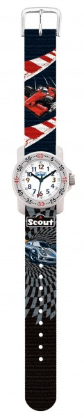 SCOUT Armbanduhr schwarz, rot Action Boys 280376008