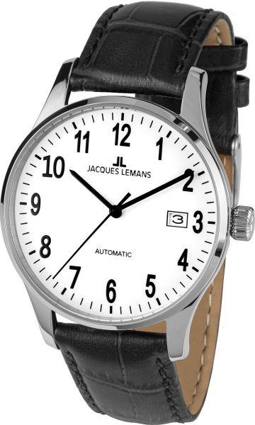Jacques Lemans Herren-Armbanduhr London Automatic 1-2073C