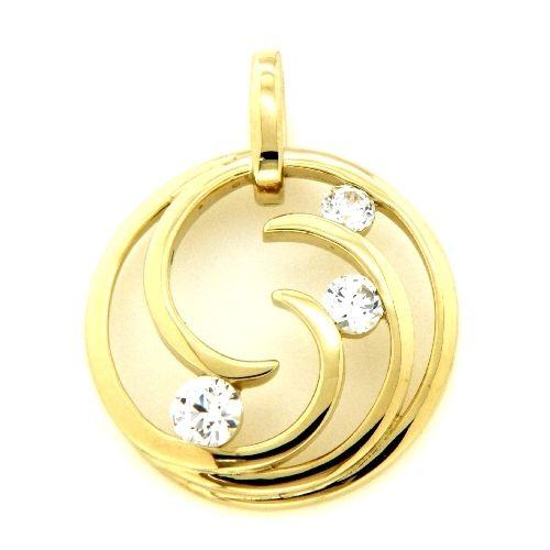 Anhänger Gold 333 Zirkonia