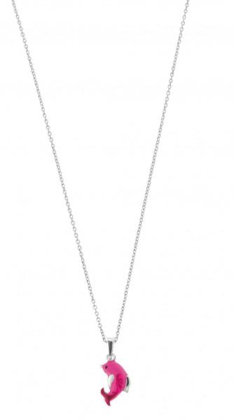 SCOUT Halskette silber, pink Wasserwelten 261080200