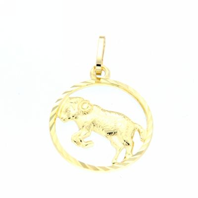 Tierkreiszeichen Gold 333 Widder