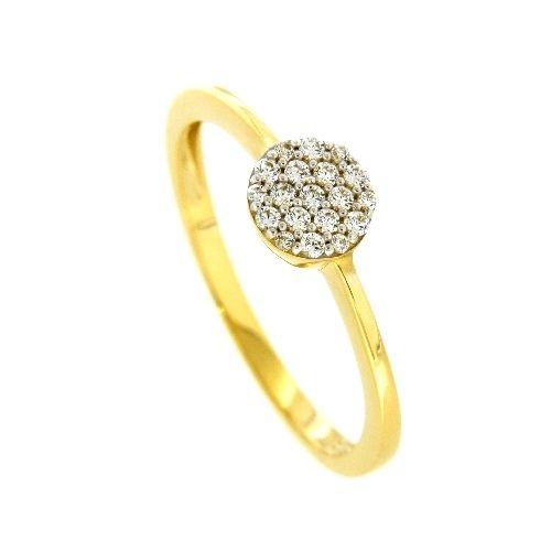 Ring Gold 333 Zirkonia Weite 52