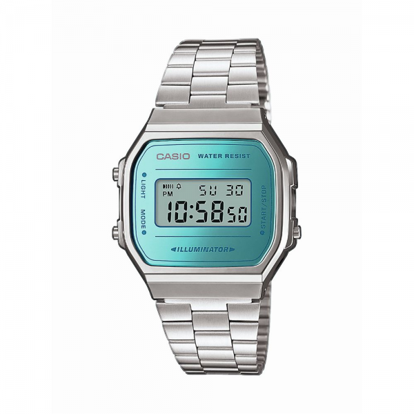 CASIO Armbanduhr CASIO Collection Retro A168WEM-2EF
