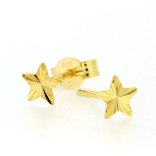 Ohrstecker Gold 333 Stern