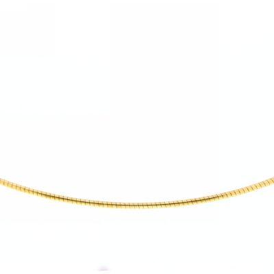 Halsreifen (1,2mm) Doublé 42 cm