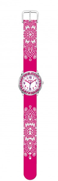SCOUT Armbanduhr pink glitzer The Darling Collection 280381002