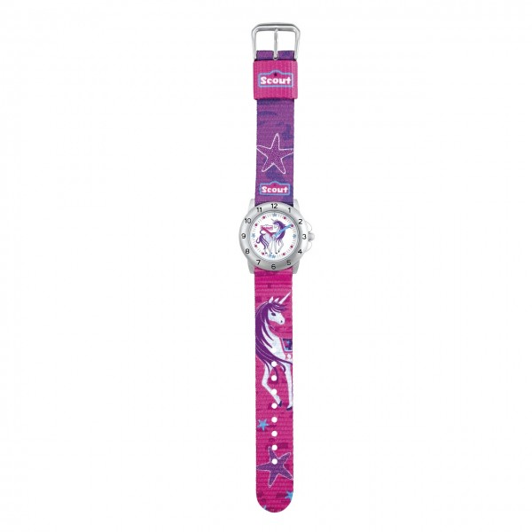 SCOUT Armbanduhr pink Action Girls 280378008