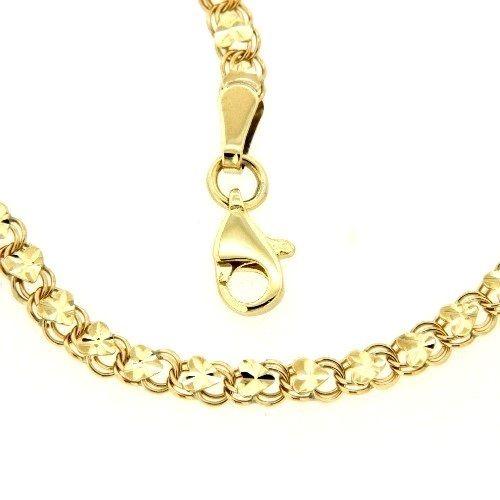 Kette Gold 333 45 cm Herzen