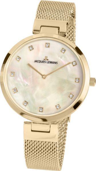 Jacques Lemans Damen-Armbanduhr Milano 1-2001D
