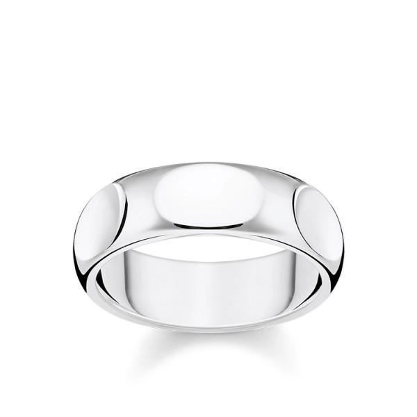 Thomas Sabo Ring Silber Größe 48 TR2281-001-21-48