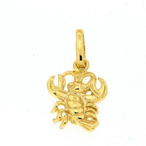 Tierkreiszeichen Gold 333 Krebs