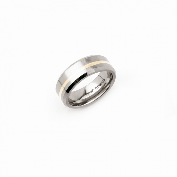 Boccia Titanium Ring 0114-0148 Größe 48