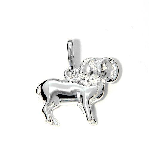 Tierkreiszeichen Silber 925 Widder rhodiniert