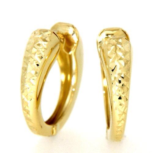 Scharniercreolen Gold 333