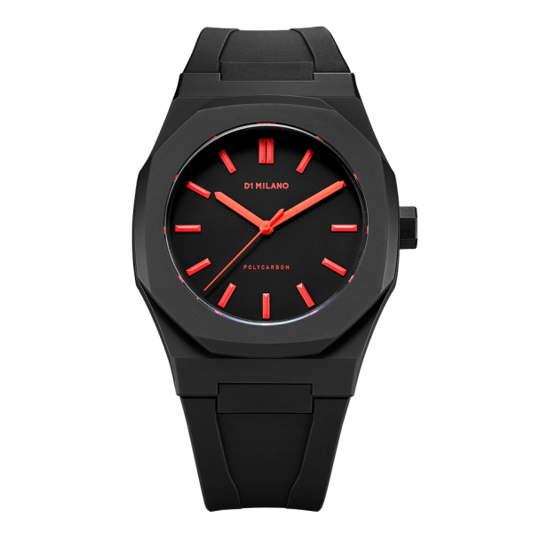 D1 Milano Armbanduhr Polycarbon Quarz PCRJ06