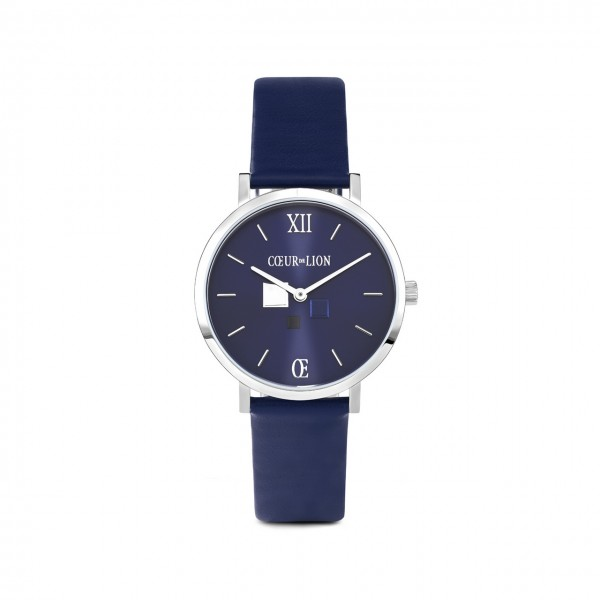 COEUR DE LION Damen-Armbanduhr Blue Sunray 7600/71/0707
