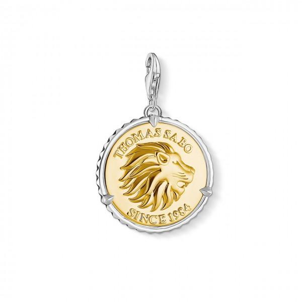 Thomas Sabo Charm-Anhänger Coin Löwe 1697-966-39