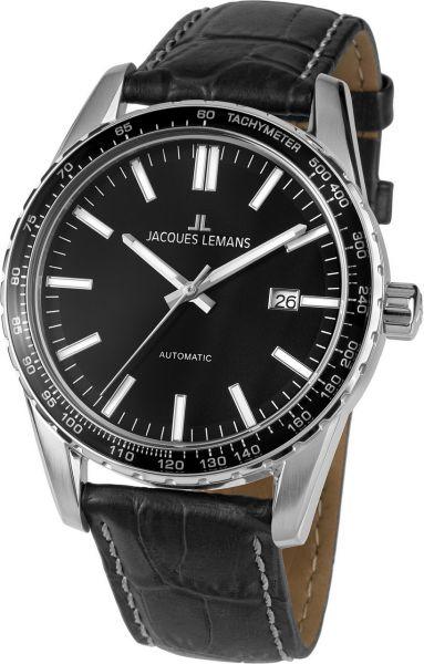 Jacques Lemans Herren-Armbanduhr Liverpool Automatic 1-2075A