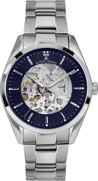 Jacques Lemans Herren-Armbanduhr Derby Automatic 1-2087H