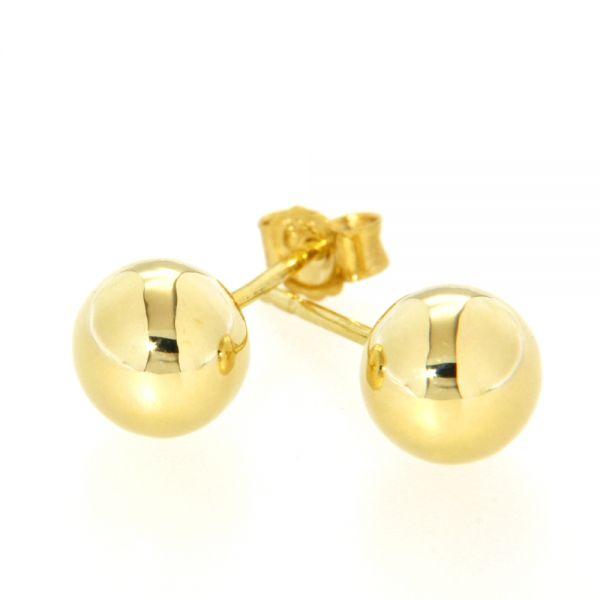 Ohrstecker Gold 333 7 mm