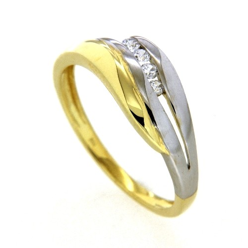 Ring Gold 333 bicolor Weite 64