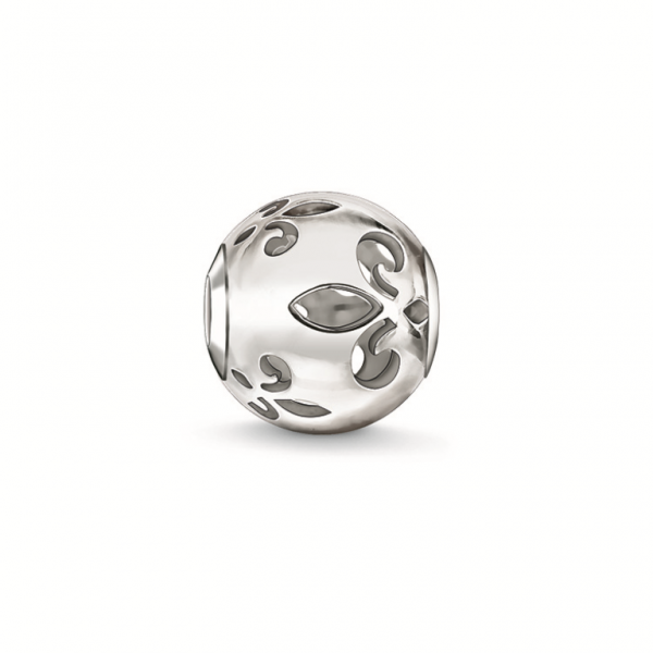 Thomas Sabo Karma Bead Bourbonische Lilie Cut-out K0234-001-12