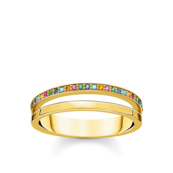 Thomas Sabo Ring TR2316-488-7-52