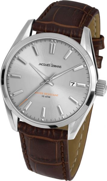 Jacques Lemans Herren-Armbanduhr Derby 1-1859B