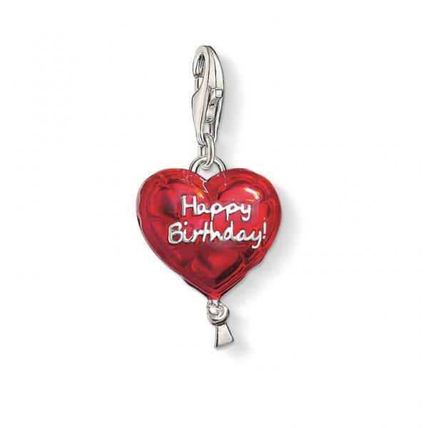 Thomas Sabo Charm Luftballon HAPPY BIRTHDAY 1286-007-10