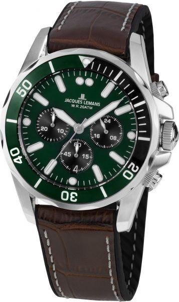 Jacques Lemans Herren-Armbanduhr Liverpool 1-2091C
