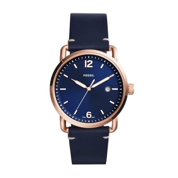 Fossil Armbanduhr THE COMMUTER 3H DATE FS5274