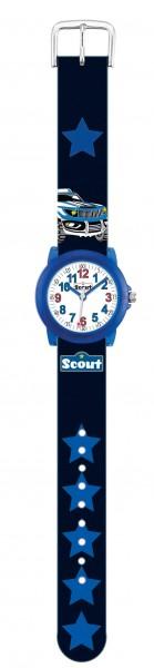 SCOUT Armbanduhr blau, schwarz Crystal 280305034