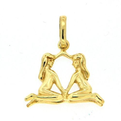 Tierkreiszeichen Gold 333 Zwillinge