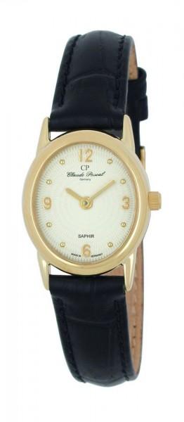Claude Pascal Armbanduhr Damen Gold 585 194289 GG