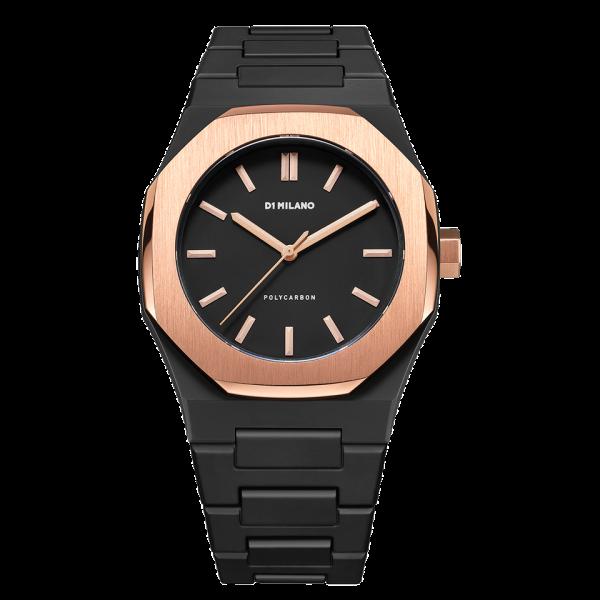 D1 Milano Armbanduhr Polycarbon Quarz PCBJ05