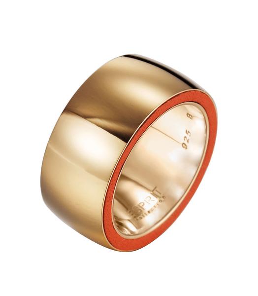 ESPRIT collection Ring persephone orange ELRG12117C170