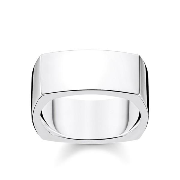Thomas Sabo Ring viereckig Größe 58 TR2280-001-21-58