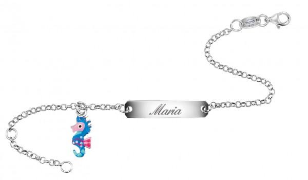 SCOUT Armband silber, blau, pink Wasserwelten 260203100