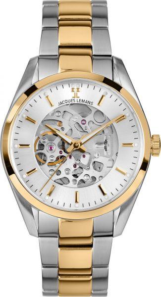 Jacques Lemans Herren-Armbanduhr Derby Automatic 1-2087I