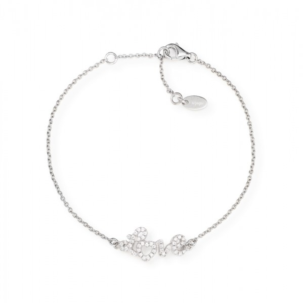 AMEN Armband 16 + 3 cm Silber BRLO