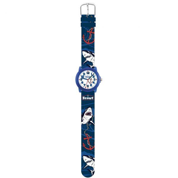 SCOUT Armbanduhr blau Crystal 280305032
