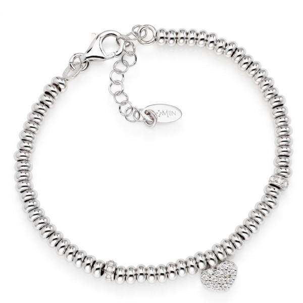 AMEN Armband 16 + 3 cm Silber POHB