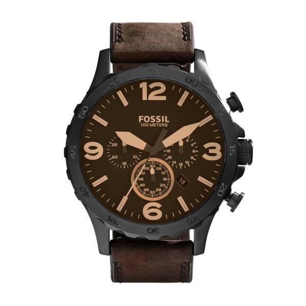 Fossil Armbanduhr NATE JR1487