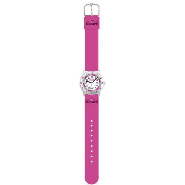SCOUT Armbanduhr pink Action Girls 280378011